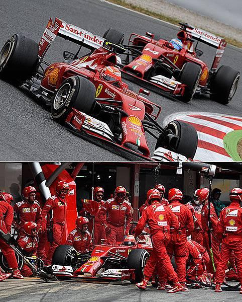 2014 F1西班牙站-4