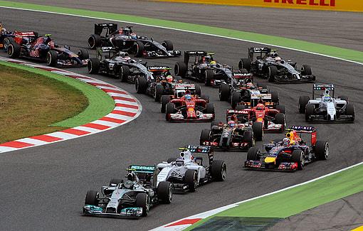 2014 F1西班牙站-3