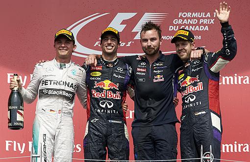 2014 F1 加拿大站-8