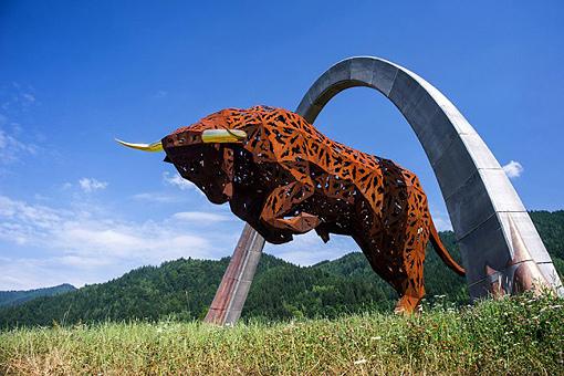 奧地利Red Bull賽道一隅