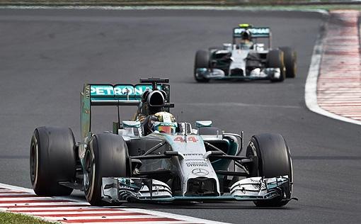 2014 F1匈牙利站-7