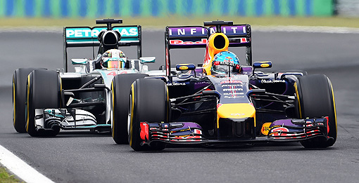 2014 F1匈牙利站-5