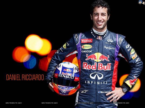 2014 F1比利時站冠軍 -Daniel Ricciardo