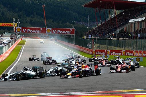 2014 F1比利時站 -1