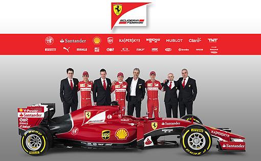 2015 F1 Ferrai當家大軍