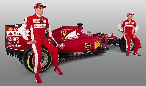 2015 F1 Ferrai當家雙雄