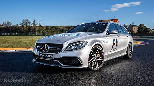 2015 F1 Medical Car-Benz AMG C63S Estate