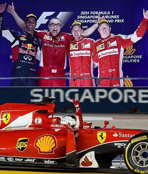 2015 F1新加坡站-1