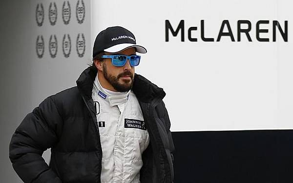 無奈的Fernando Alonso