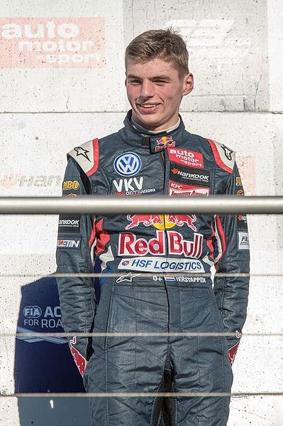 2015年F1最佳新人車手-Max Verstappen