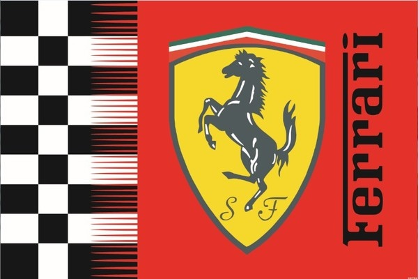 Ferrari賽車旗.JPG