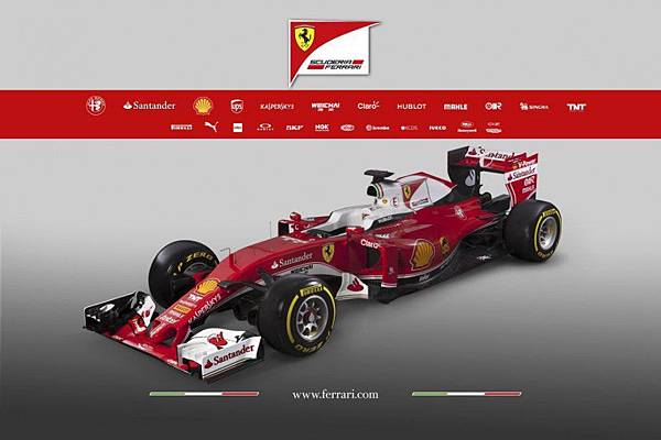 2016 Ferrari SF16-H賽車