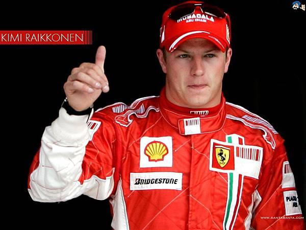 Ferrari雙雄之Kimi Raikkonen(芬蘭冰人)