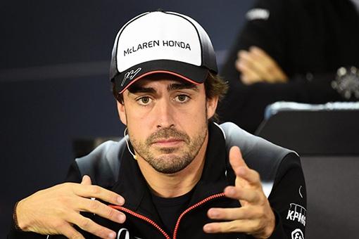 McLaren車手Fernando Alonso
