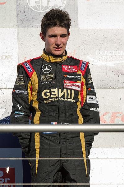 Manor車隊新人車手-Esteban Ocon