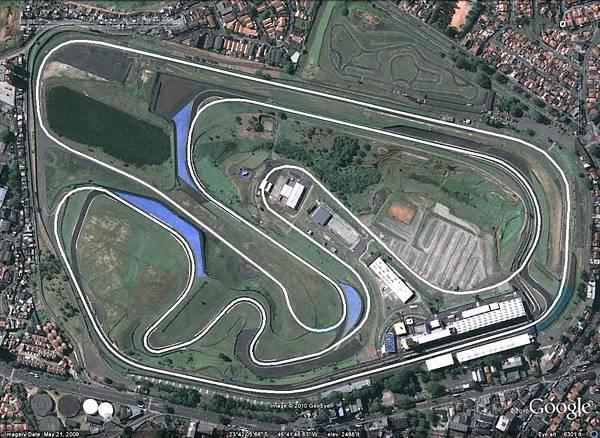 崎嶇不平的Jose Carlos Pace Circuit賽道