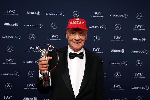 賀 Mercedes車隊董事顧問Niki Lauda榮獲2016年Laureus傑出運動員終身成就獎