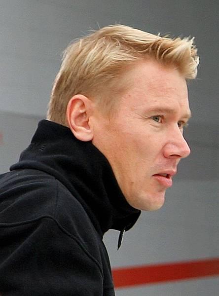 我的偶像車手Mika Hakkinen