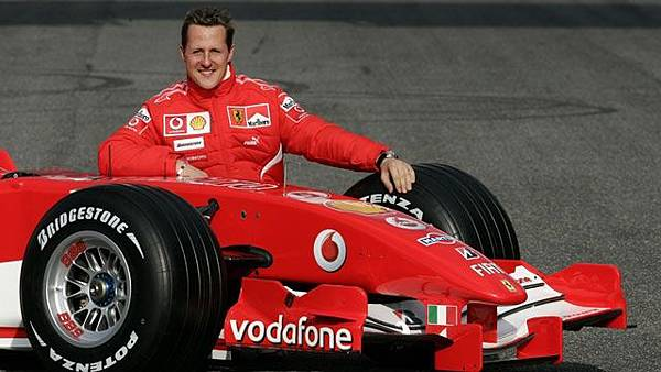 七屆F1車神Michael Schumacher