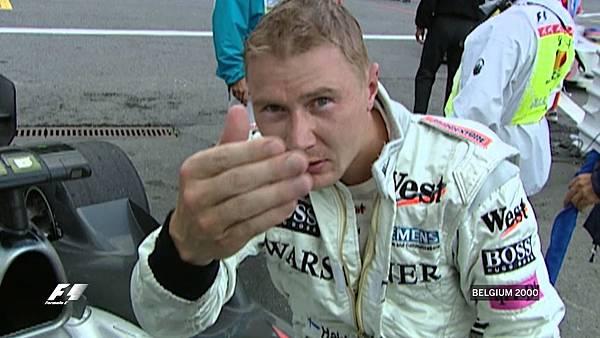 Mika Hakkinen Passes Michael Schumacher-1