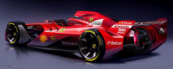 2017 F1 Ferrari車隊全新戰車
