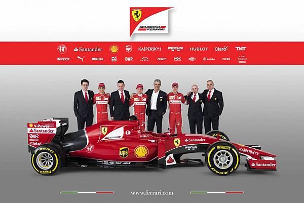 2017 F1 Ferrari車隊新戰車-1