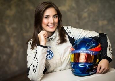 Sauber車隊美女F1車手- Tatiana Calderon -1