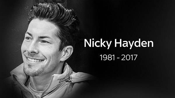 悼念前Moto GP車手-肯塔基小子Nicky Hayden