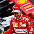 Ferrari車手-Sebastian Vettel