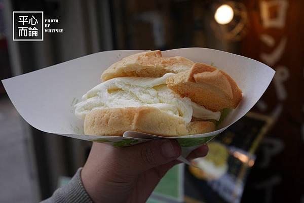 世界第二好吃的現烤冰淇淋菠蘿麵包(8)