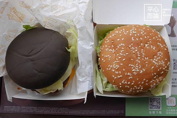 麥當勞雙牛起司黑堡 (7)