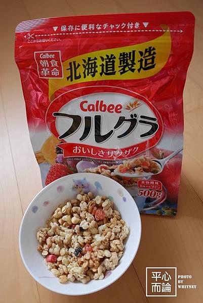 Calbee 卡樂比富果樂水果麥片 (8)