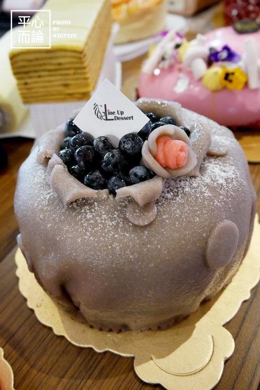 獅子甜點 藍莓王妃.JPG