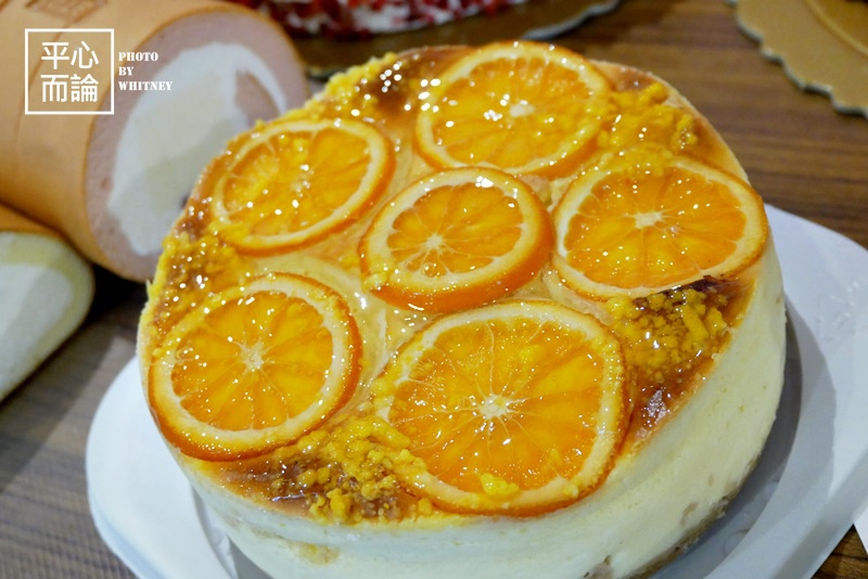 奧瑪烘焙 香橙乳酪蛋糕.JPG