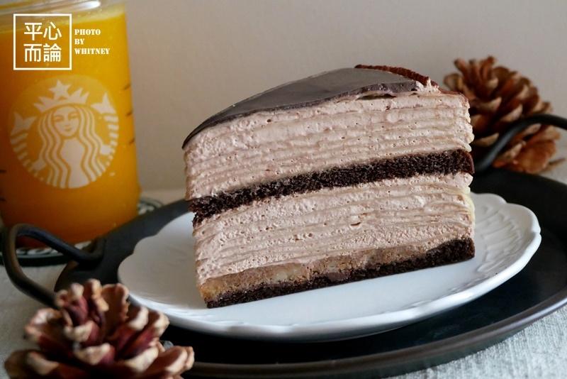 星巴克 法式巧克力千層薄餅 (2).JPG