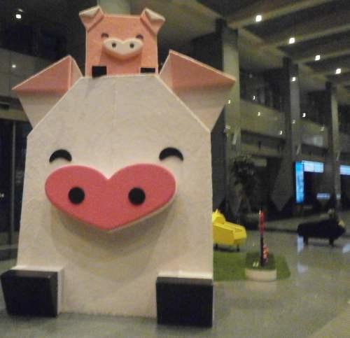 春節豬年幸福彈珠台