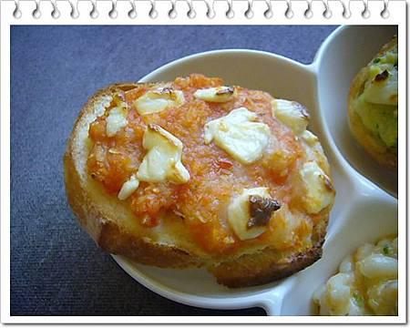 番茄洋蔥起司烤軟法