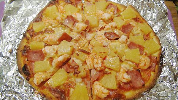 夏威夷pizza