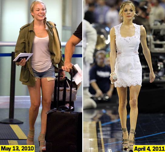 LeAnn Rimes Says That Weight Loss Criticism Is Bullying