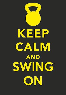 keep calm and swing on