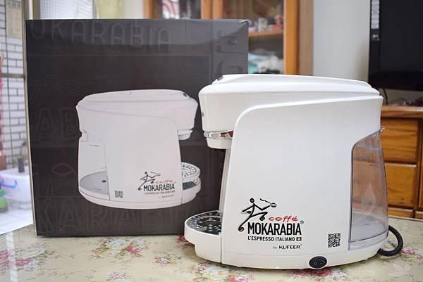 義大利膠囊咖啡機 MOKARABIA (2)