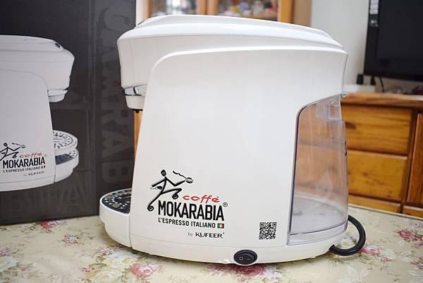 義大利膠囊咖啡機 MOKARABIA (3)