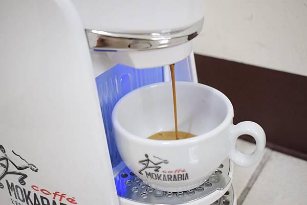 義大利膠囊咖啡機 MOKARABIA (11)