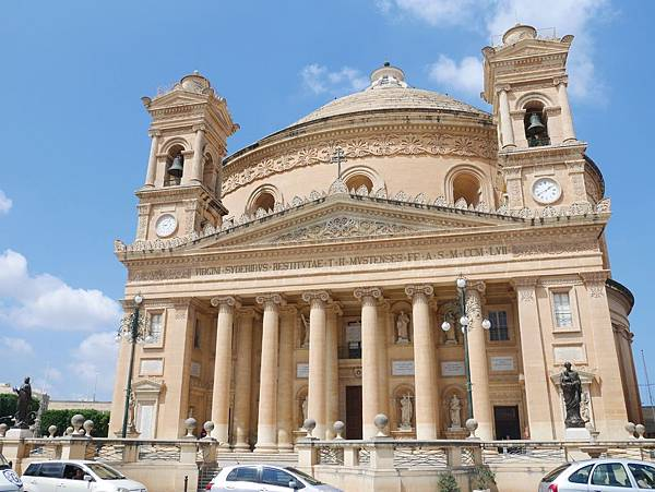馬爾他景點莫斯塔圓頂教堂 (3)