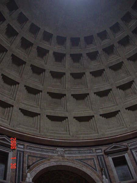 0130-89 羅馬萬神殿(拱頂).JPG