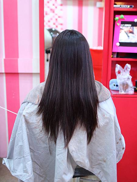 初次燙捲甜心 V.S 火星髮型設計師 【工作點滴】...Wendy lee 2014.03