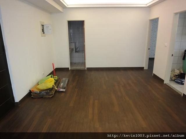 完工後的客廳