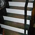 樓梯也貼塑膠地板