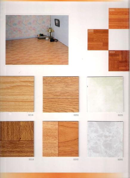 優品系列~小方塊型塑膠地板