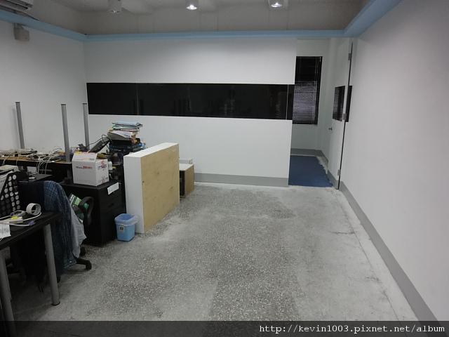 施工前的辦公室